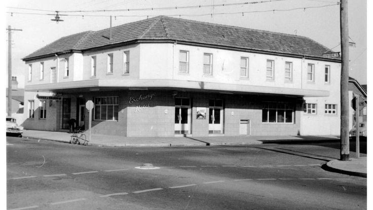 Historic photo of the Exchange Hotel Hamilton. Picture by DEAN OSLAND