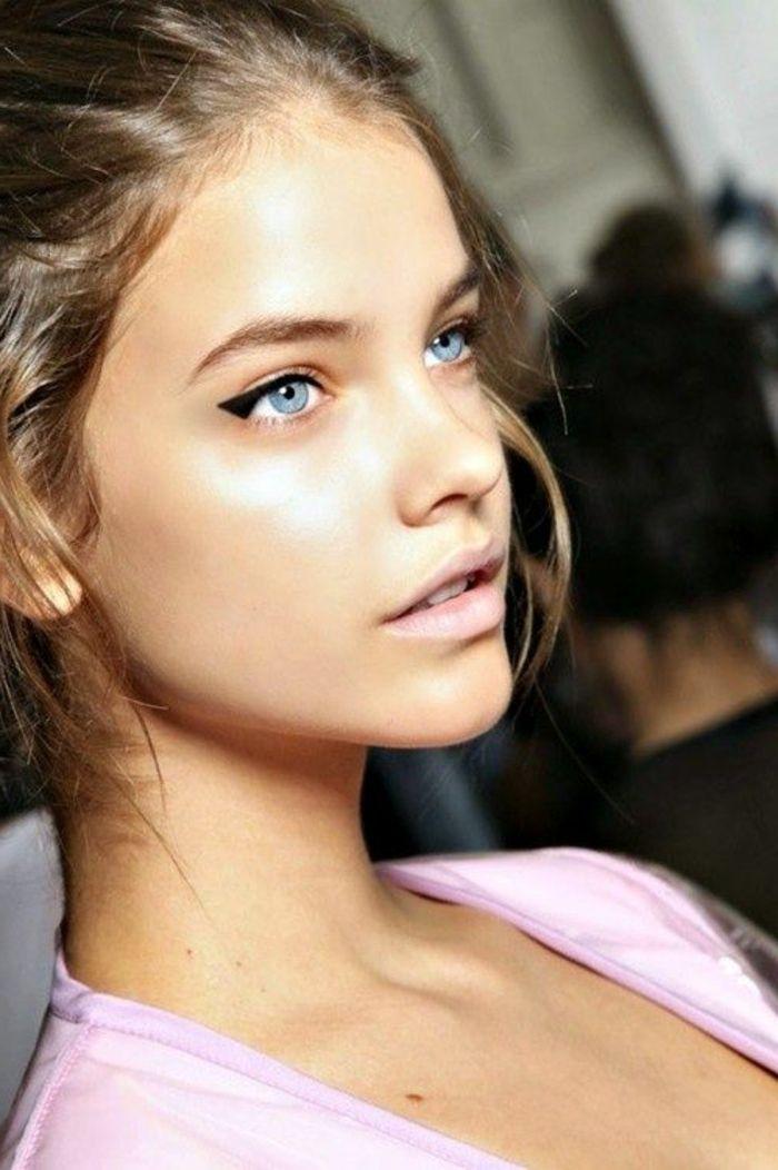 Extrêmement Les 25 meilleures idées de la catégorie Blonde yeux bleus sur  OL42