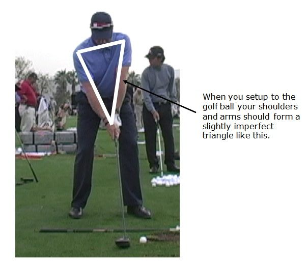 how to keep your golf swing straight