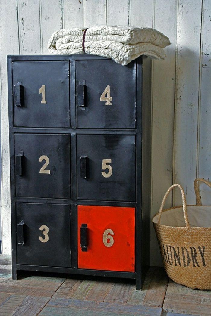 armoire métallique, armoire vestiaire avec casiers