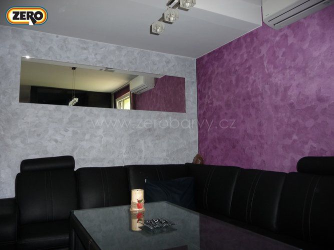ZERO Magictouch / dekorativní stěrka do kuchyní, obývacích prostor, koupelen místo obkladu, na fasády budov, krby / vysoká odolnost / snadná čistitelnost / jednoduchá aplikace.