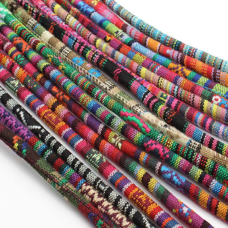 5 meters/lot new arrival multicolors bawełniany sznurek z f2817 6mm średnica diy bransoletki dla kobiet w 5 meters/lot new arrival multicolors bawełniany sznurek z 6mm średnica diy bransoletki dla kobiet              od Biżuteria Ustalenia i Komponenty na Aliexpress.com | Grupa Alibaba