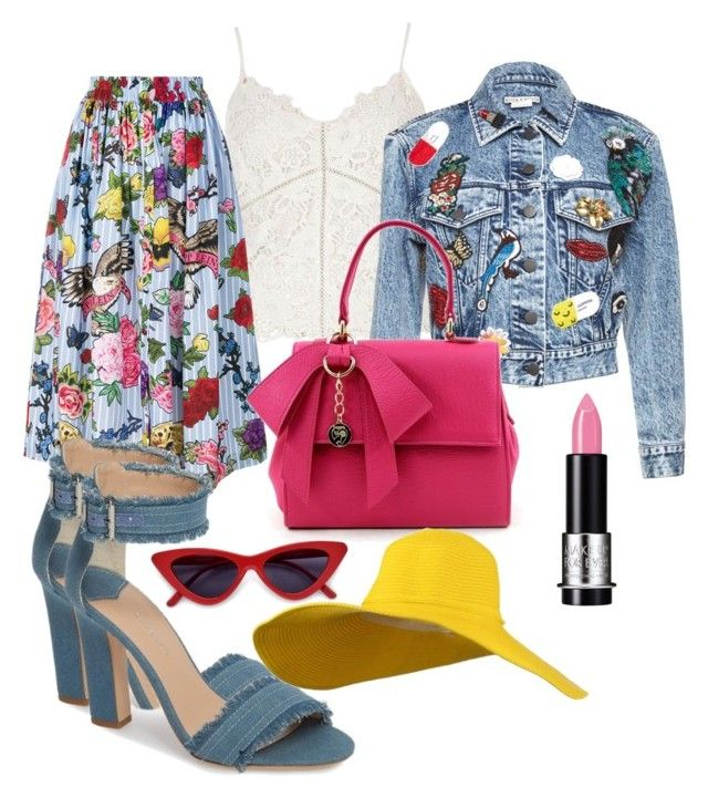 """""""Untitled #17"""" by styles-bykim on Polyvore featuring River Island, Philipp Plein, Tony Bianco and MAKE UP FOR EVER"""