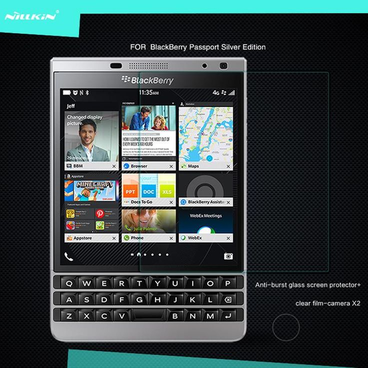 NILLKIN For BlackBerry Passport Silver Edition Amazing H Anti-Explosion Tempered Glass Screen Protector Film