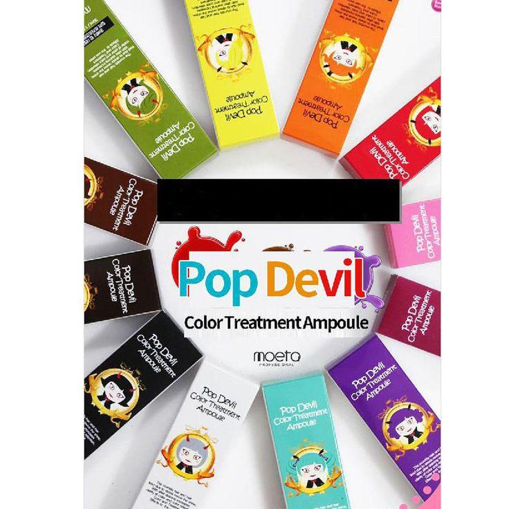 MOETA Pop Devil Color Treatment Ampoule Hair Coloring  30ml Dying Essence #Moeta
