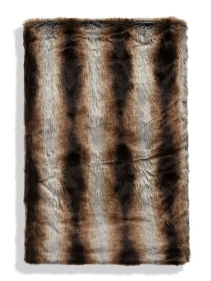 Limited Edition Faux Fur Throw (Medium) by Donna Salyers Fabulous - Furs at Gilt