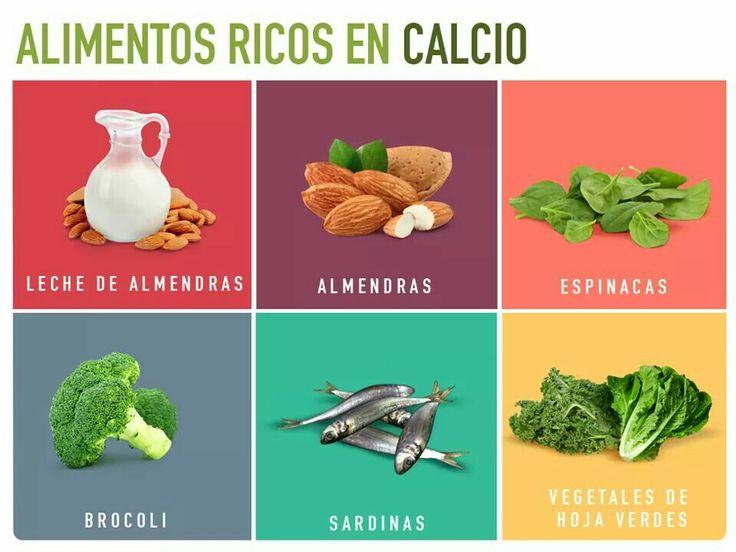Mejores 2928 im genes de healthy tips en pinterest acidez aguas desintoxicantes y - Alimentos naturales ricos en calcio ...