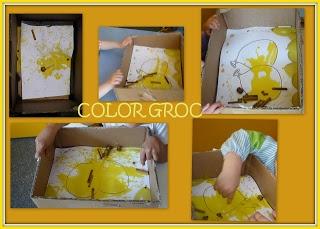 Experimentació amb el color groc.