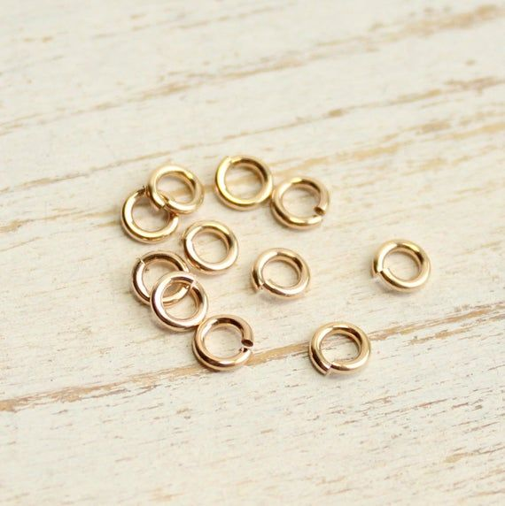 Of  3 Pkg 14k GOLD FILLED Lobster Clasp W // Ring 11 x 4 MM