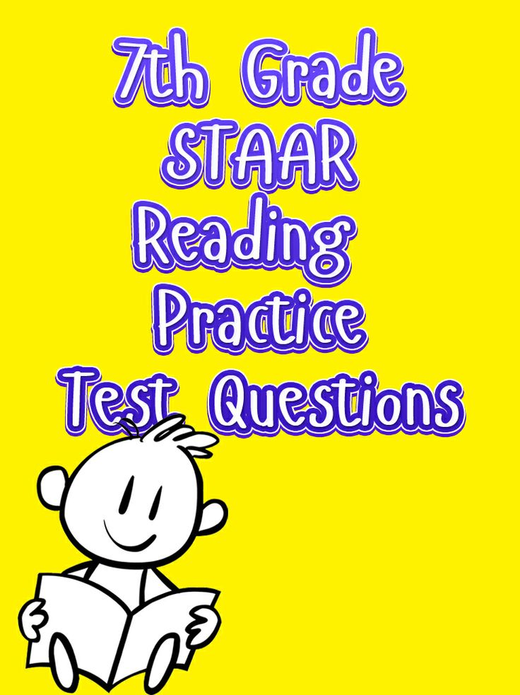 Get your 7th grade students ready for the reading test section of the STAAR with our free 7th grade STAAR Reading Practice Test Questions. #staar #grade7