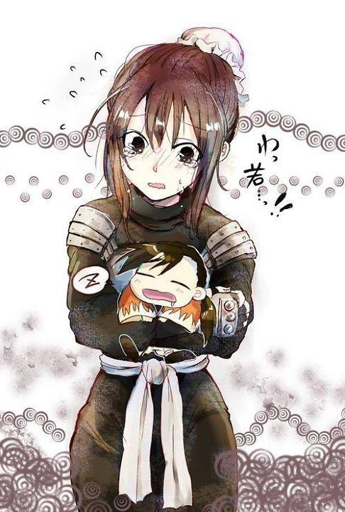 Lan Fan and Ling Yao - so cute...