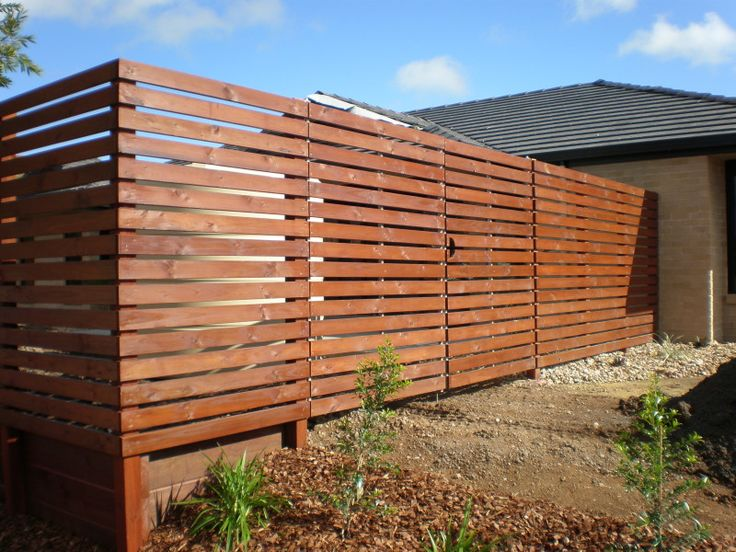 Horizontal fencing