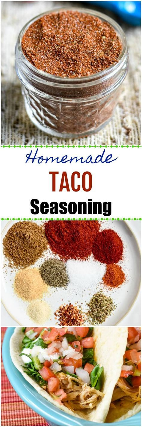 This easy Homemade Taco Seasoning is delicious, spicy, and healthier than store-bought taco seasoning. Use this Whole-30, Paleo, Gluten-Free, Keto, and Dairy-Free taco seasoning on tacos, taco salads, and other Mexican favorite dishes.