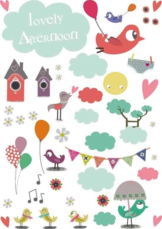 12 Best Jolis Stickers Images On Pinterest | Child Room, Kidsroom
