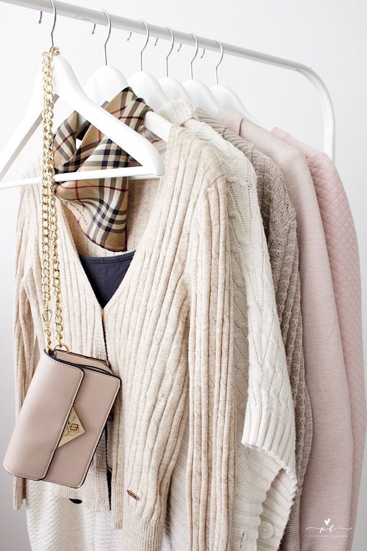 Palmikkoneule Vaaterekki Autumn Clothes Classy Preppy Style Burberry Scarf Knit Clothes