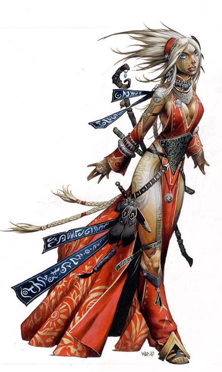 guerrière sorcière
