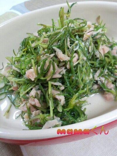 おかひじきのツナ和え by mamaくんさん | レシピブログ - 料理ブログの ...