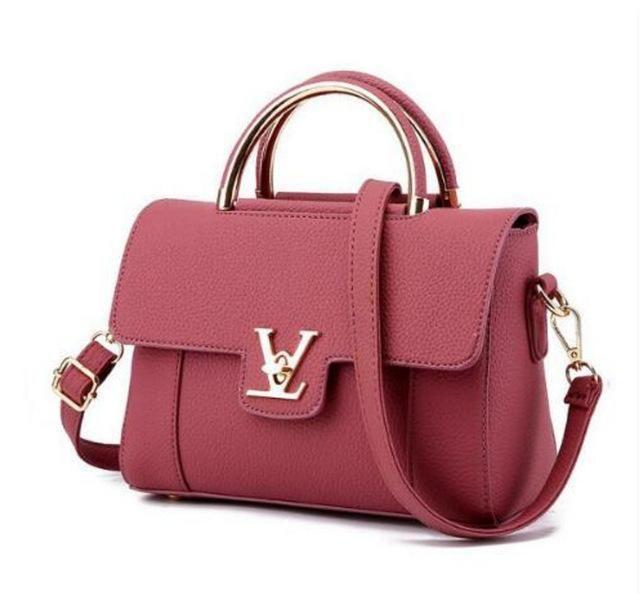 Luxury Leather Clutch Bag Ladies Handbags Brand Women Messenger Bags