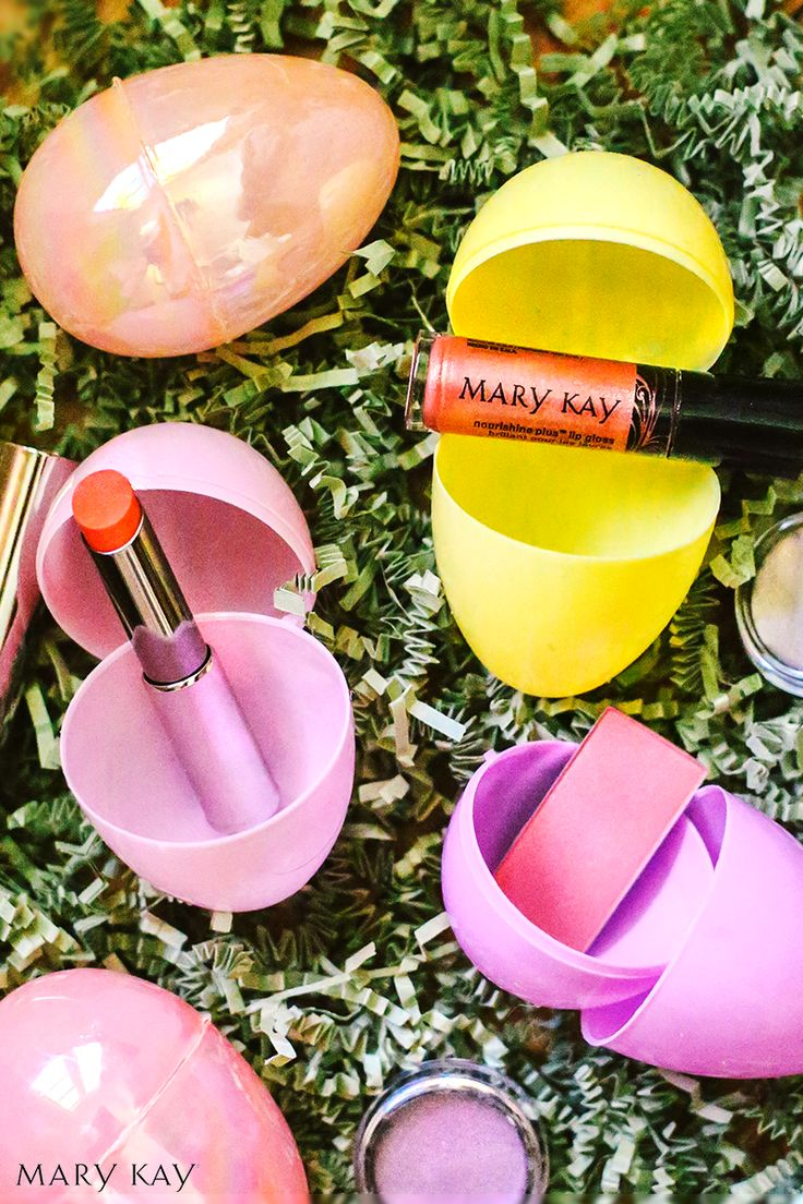 So much better than chocolate! Get the perfect pastel Easter makeup look with these fun products. Happy Easter, everyone! | Mary Kay
