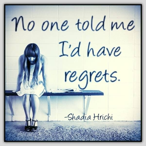 One Life No Regrets: 17 Best Ideas About Abortion Regret On Pinterest