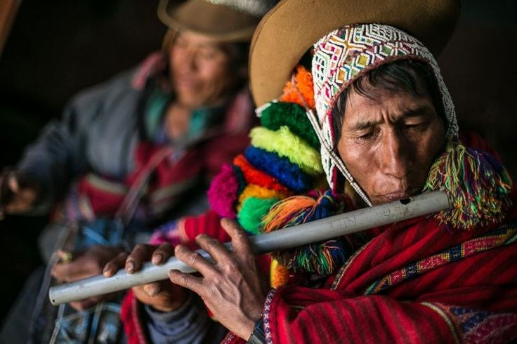 Chillihuani reportage of a population living in the Andes ...