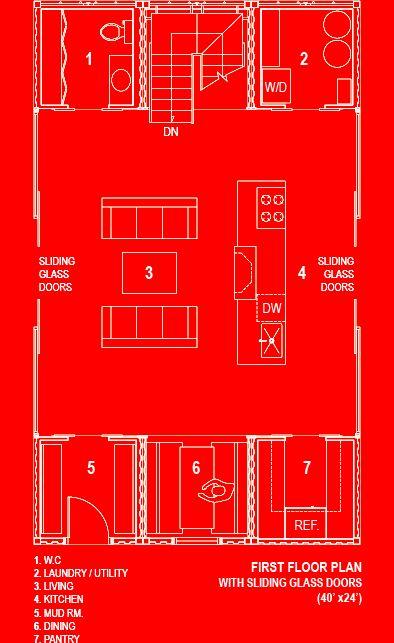 die schnell haus quick house ist ein fertighaus von dem architekten adam kalkin aus recycelten schiffscontainern konzipiert es verfgt ber 3 - Versand Container Huser Plne Pdf