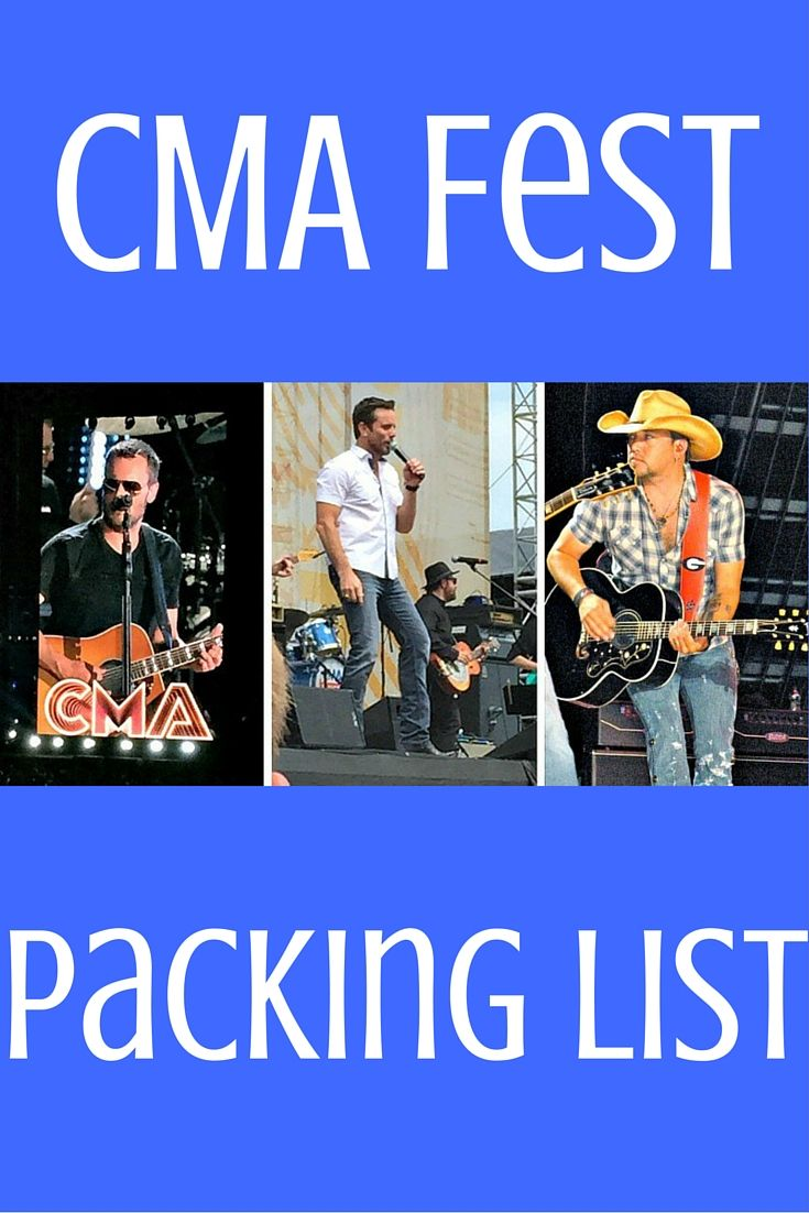 Let us help you prepare for our favorite event of the year- the CMA Music Fest in Nashville, Tennessee. Here are our packing tips for what you need for this 4 day music extravaganza.