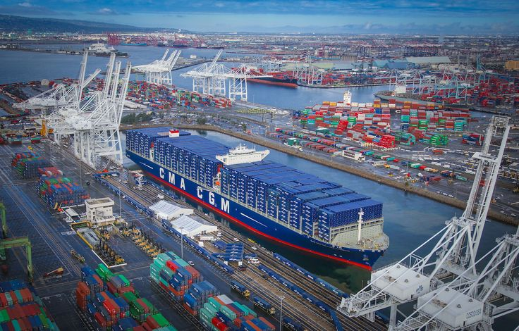 French container shipping company CMA CGM has confirmed that starting in the end of May it will deploy six 18,000 TEU 'megaships' between Asia and U.S. west coast ports. The ships will be the largest to call regularly in North America. The company says the decision to deploy its 'flagship fleet' is in line with …