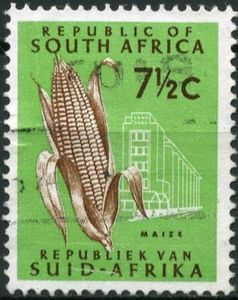 Stamp: Maize (South Africa) (Definitive Issue - Decimal Issue) Mi:ZA 370,Sn:ZA 335,Yt:ZA 286D