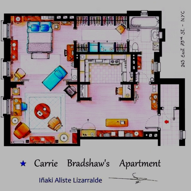 35 best layout- good images on Pinterest | Tiny homes, Apartment ...