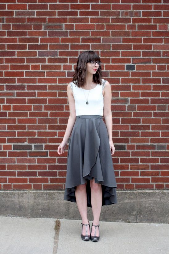 Cascade Skirt by Megan Nielsen Patterns   Project   Sewing / Skirts   Kollabora
