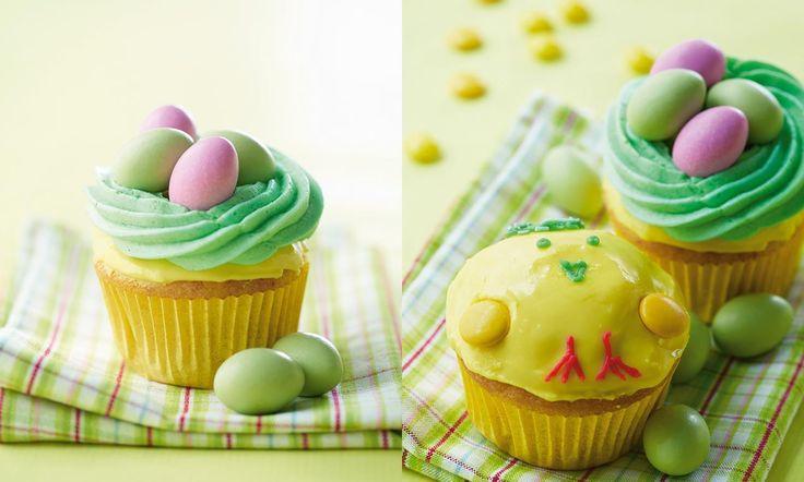 Påske-cupcakes opskrift   Dr. Oetker