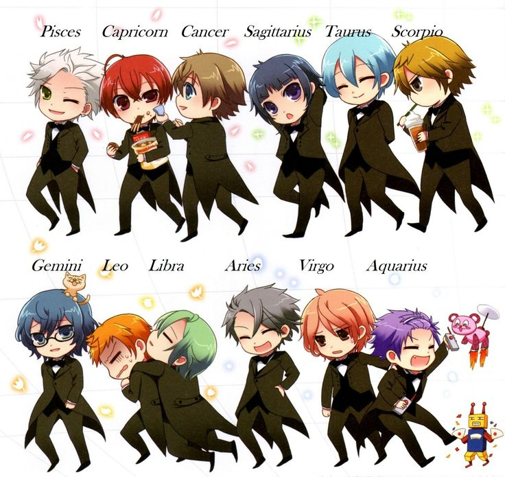 Anime Zodiac Signs Google Search Anime Zodiac Anime Horoscope Zodiac Characters