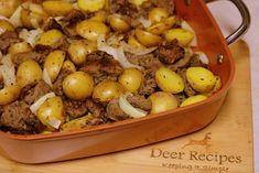 Venison and Potatoes | Deer Recipes