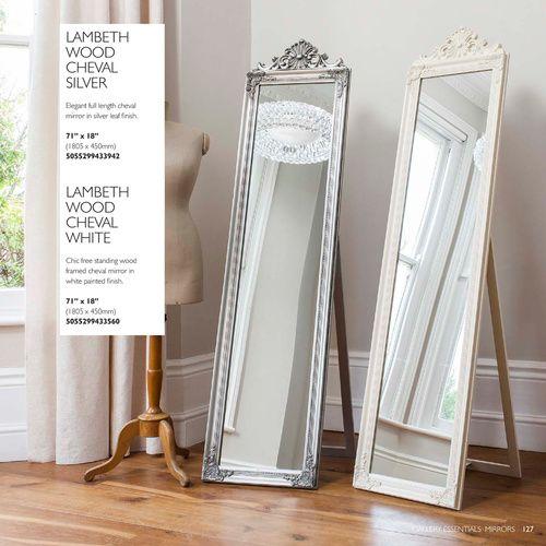 Sleek full length cheval mirror studio pinterest for White full length mirror