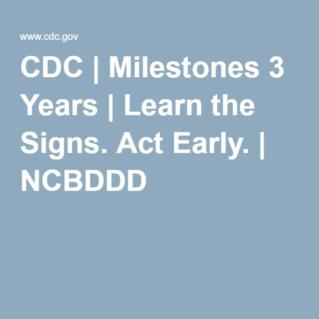 Learn the Signs. Act Early. - mn.gov