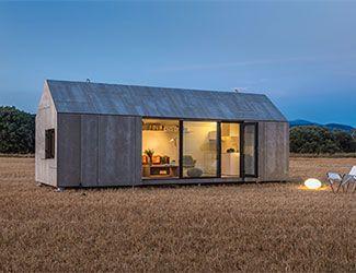 La casa transportable APH80 que fabricamos para abaton es finalista en los premios A+2014 de Architizer #arquitectura #madera #vivienda #casa