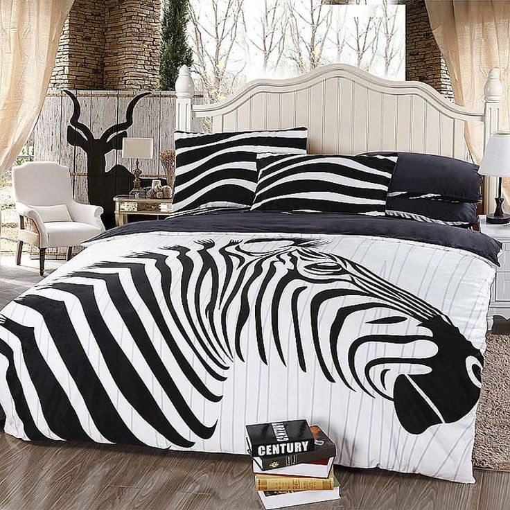 Encontrar Más Conjuntos de Ropa de Cama Información acerca de Queen size blanco y negro de color cebra niños comforter bedding set funda nórdica, alta calidad ropa de cama de baby set, China juego de color rosa Proveedores, barato conjunto de diamantes de imitación de Shop - Everything General Store en Aliexpress.com