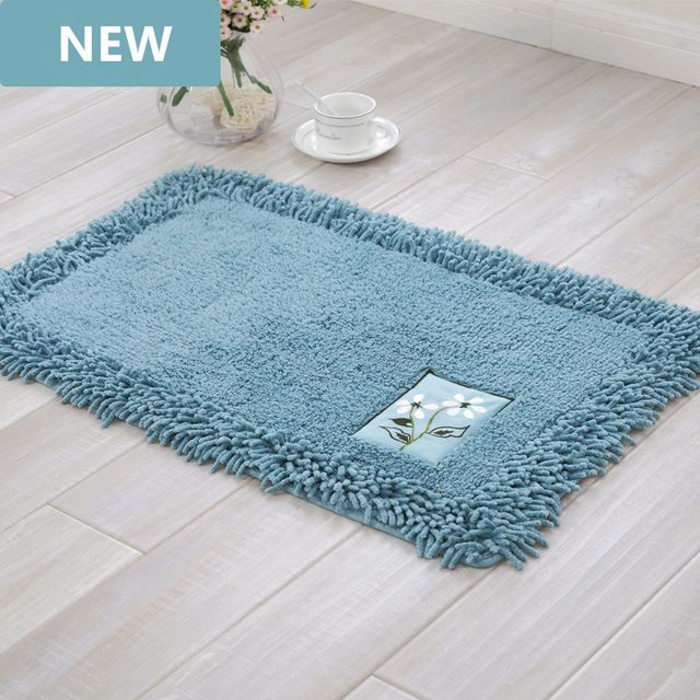Durable Bathroom Rug Set Luxury Big Size Bath Tub Mat Non Slip