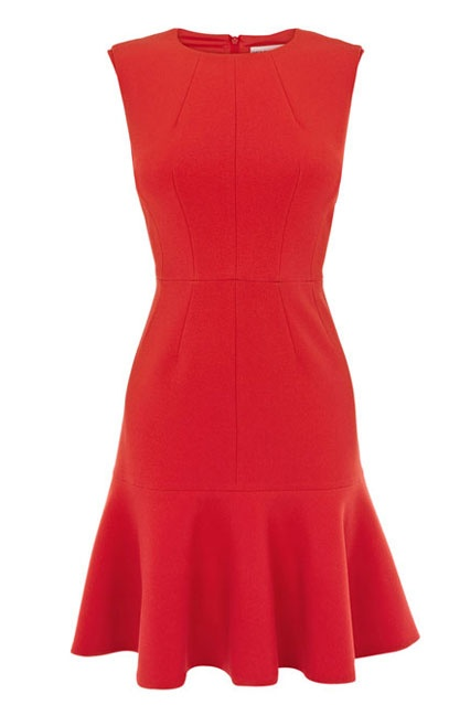 1000 Ideas About Red Skater Dress On Pinterest