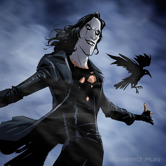 The Crow by Edward Pun