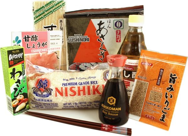 Sushi beginners kit. Would be swell to have.
