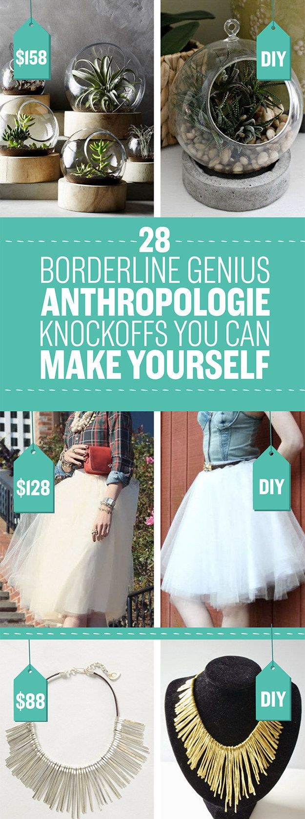 26 Impossibly Cool Anthropologie Knockoffs You're Gonna Want To Make Right Now
