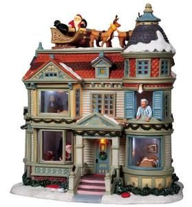 """Cute!  Love """"Twas the Night Before Christmas"""" from Lemax - would love to add this to our collection!"""