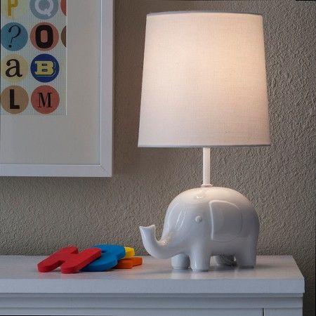Circo™ Ceramic Table Lamp & Shade - Elephant (with bulb) : Target