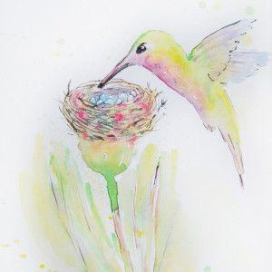 watercolor by Volkova Tatiana