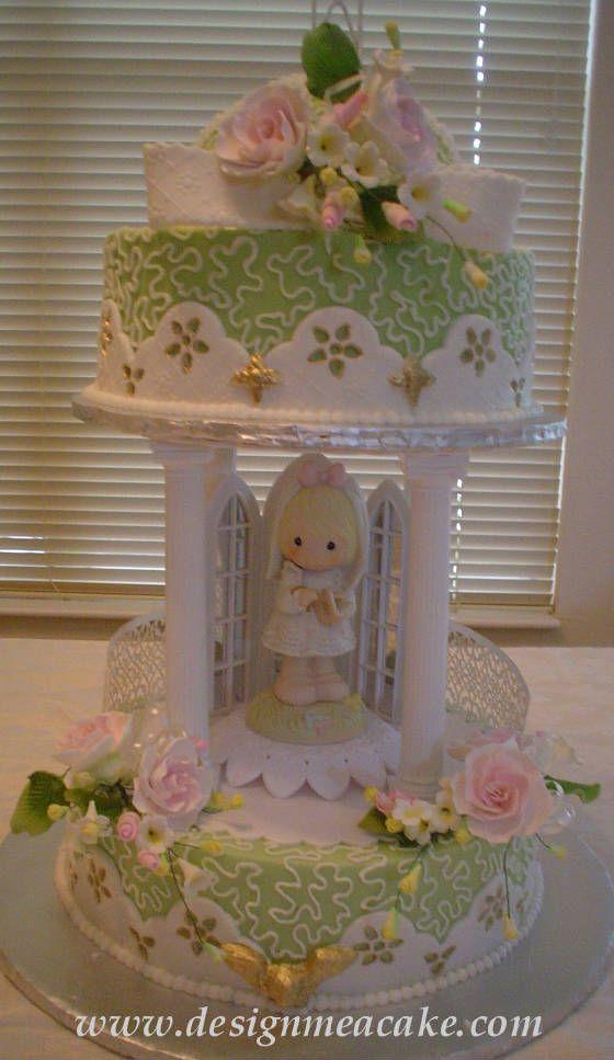 Edna De La Cruz Precious moments cake cute for little girl's event