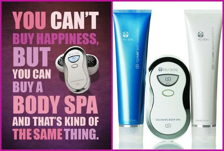 Do you want to know what kind of happiness i'm talking about, and what the ageLOC Galvanic Body Spa can change for you? Contact me for more info!