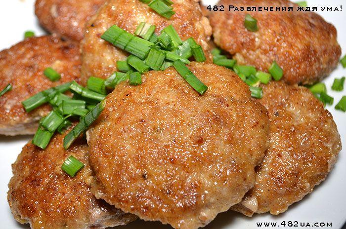 Котлеты простые из индюшки говядины и свинины  (Оригинальный рецепт)