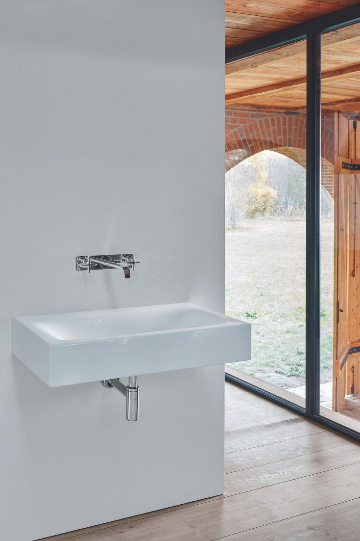 Bette Lux Wand-Waschtisch ohne Hahnloch, A167 800 x 495 mm